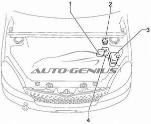 Toyota Yaris Verso  1999 - 2005  - Fuse Box Diagram