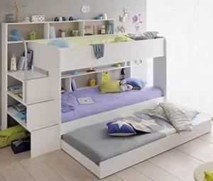 Etagenbett Für Kinder : 90x200 kinder etagenbett wei grau mit bettkasten treppe und gel nder ~ Frokenaadalensverden.com Haus und Dekorationen