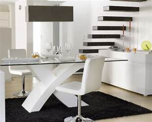 Table basse table a manger salle a manger complete blanc for Table salle a manger blanc laqué