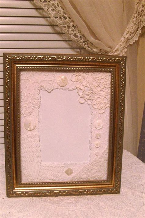 shabby chic picture frame ideas shabby chic wedding picture frame mat