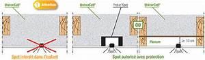 Cloche De Protection Pour Spot Encastrable : protection spot encastrable le blog des mat riaux de ~ Dailycaller-alerts.com Idées de Décoration