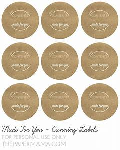 34 best canning labels and canning label templates images With canning jar lid labels