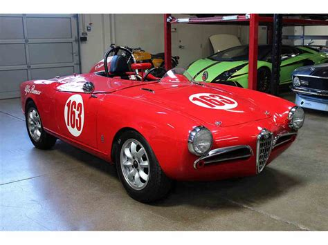 Alfa Romeo Giulietta Spider For Sale by 1956 Alfa Romeo Giulietta Spider For Sale Classiccars