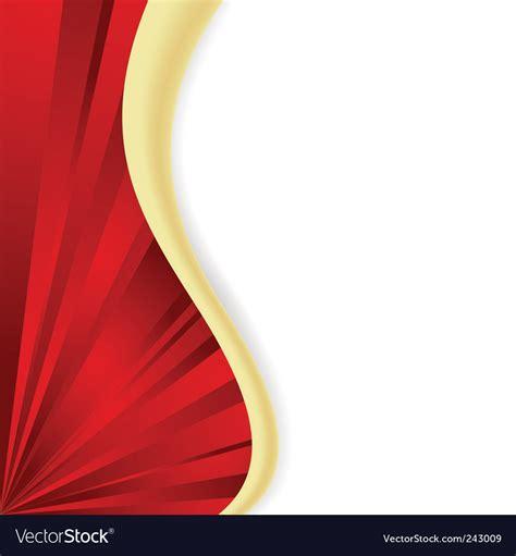 red wave royalty  vector image vectorstock