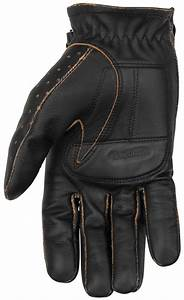 $28.74 Black Brand Mens Vintage Knuckle Leather Gloves #264847