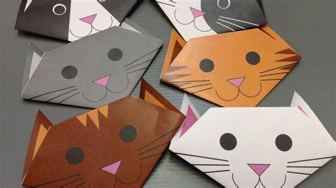 origami cat paper print   cute cats youtube