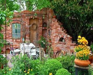 Natürlicher Sichtschutz Garten : steinmauer garten sichtschutz gartendekorationen new ~ Michelbontemps.com Haus und Dekorationen