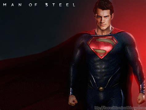 Man Of Steel Superman Wallpaper - WallpaperSafari