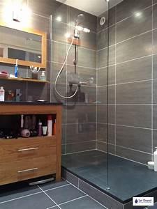 le grand plombier chauffagiste rennes bruz salle de With salle de bain faience grise