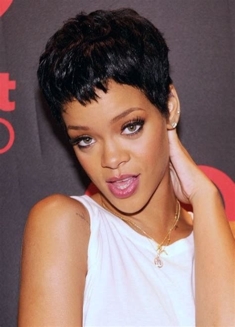 Rihanna Hairstyles by Rihanna Hairstyles 2013 The Pixie Cut