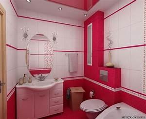 20 best bathroom color schemes color ideas 2016 2017 for Interior design pink bathrooms