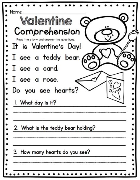 st grade english worksheets reading comprehension