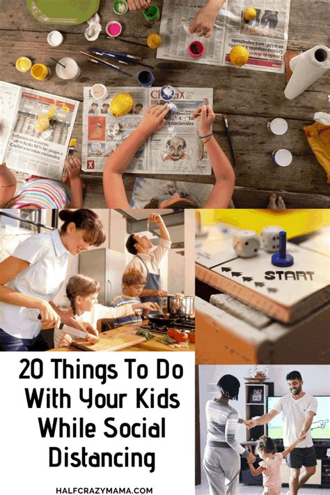 20 Things To Do With Your Kids While Social Distancing in