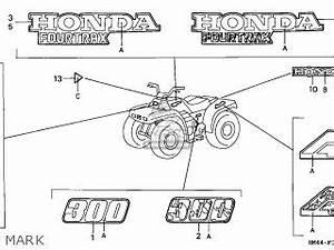 1999 Honda Fourtrax 300 Wiring Diagram : honda trx300 fourtrax 1999 x usa parts lists and schematics ~ A.2002-acura-tl-radio.info Haus und Dekorationen