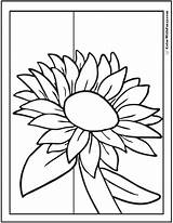 Sunflower Coloring Pages Printables Pdf Colorwithfuzzy sketch template