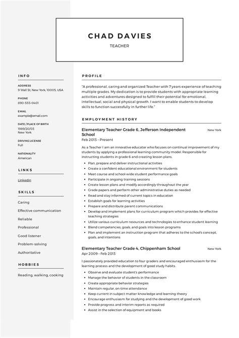 Teacher Resume & Writing Guide | + 12 Samples | PDF | 2019