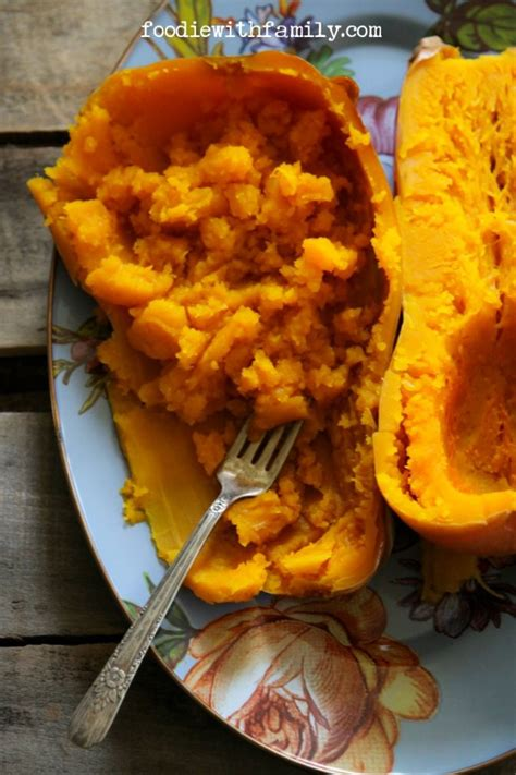 cook butternut squash slow cooker butternut squash easiest way to cook a butternut squash recipe just a pinch recipes