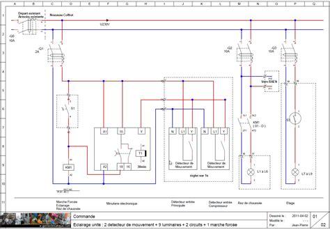 chambre a gaz seb01 schéma électrique base 01 éclairage tertiaire e