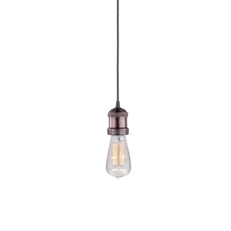 cord hung pendant light fixtures one light smooth cord