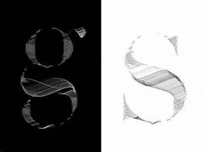 Woven Type Dribbble Font Typeface Letters Miller