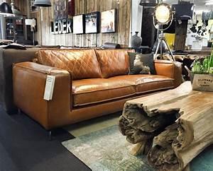 Couch Leder Cognac : designer sofa paulo in dickes cognac leder von mokana ~ Frokenaadalensverden.com Haus und Dekorationen