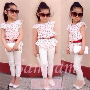 2015 new fashion baby girls clothing set kids clothes ...