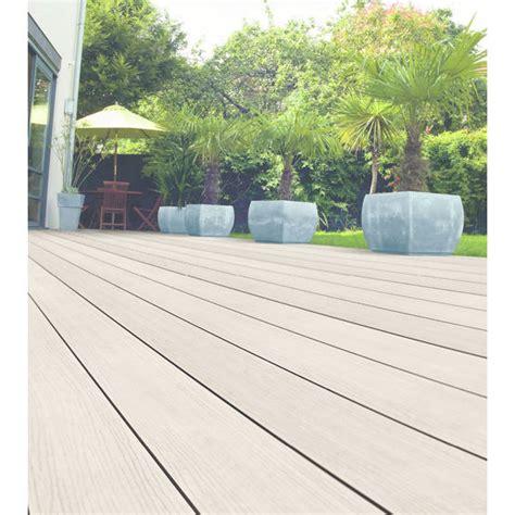 lame pvc terrasse lame de terrasse composite avec surface en pvc optima