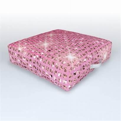 Blush Floor Sparkles Gradient Cushion Society6 Cushions