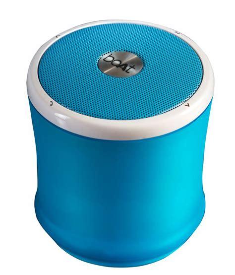 Boat Speakers Bluetooth by Boat Pint Bluetooth Speaker Blue Buy Boat Pint
