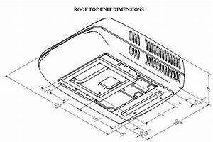Air Conditioner Dimensions Drawings