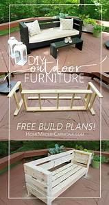 25 Best Diy Outdoor Furniture Ideas On Outdoor Design 11 ...