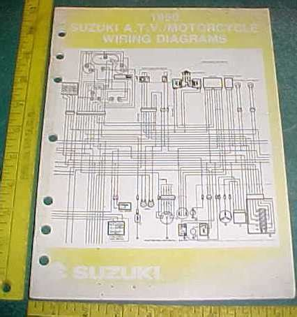 Suzuki Motorcycle Atv Wiring Diagram Schematics Ebay