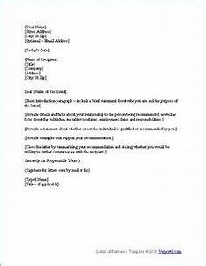 recommendation letter a letter of recommendation is a With providing a reference template