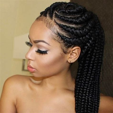 Cornrow Ponytail Hairstyles For by Cornrow Hairstyles Different Cornrow Braid Styles