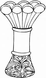 Vase Coloring Pages Printable Vases Adult Pottery Flowers Greek Getcoloringpages Vase2 Coloringpages Colorpagesformom sketch template