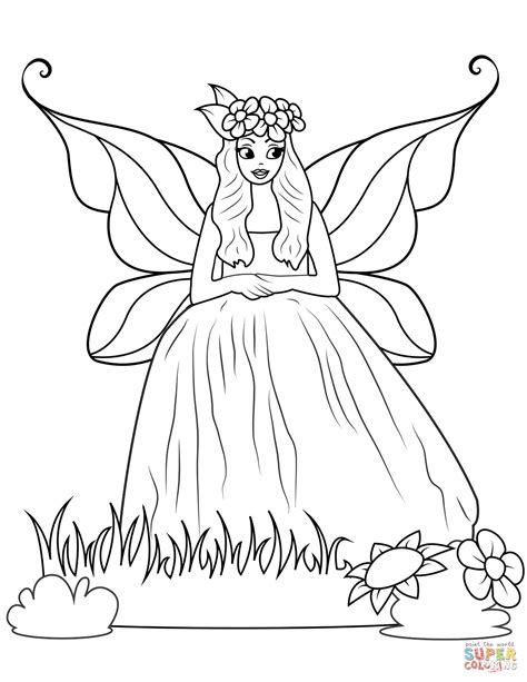 Dress Coloring Pages Coloring Pages In Gown Dress Coloring Page Free Printable