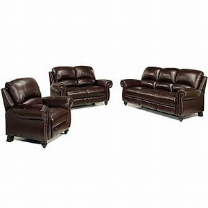 Sophia leather sofa loveseat set jcpenney for Jcpenney leather sectional sofa