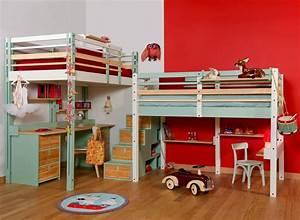 Lit Bébé Petit Espace : lits escamotables et lits mezzanines meubles gain de place espace loggia ~ Melissatoandfro.com Idées de Décoration