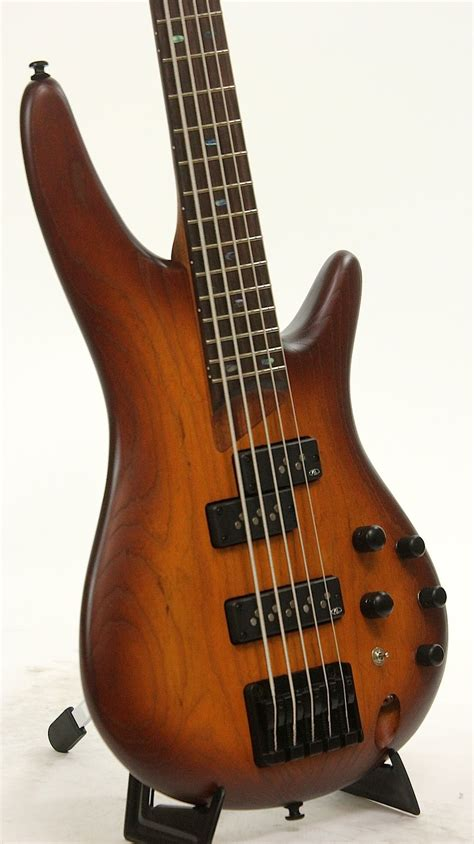 Ibanez SR655 BBF Brown Burst Flat Electric Bass Guitar ...