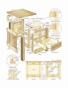 Mission end table woodworking plans - WoodShop Plans