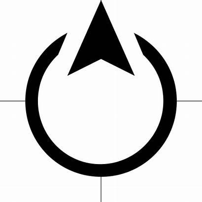 Norte North Utara Arrow Direction Icon Transparent