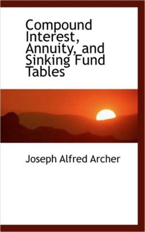 Sinking Fund Annuity Calculator by Annuityf Compound Annuity