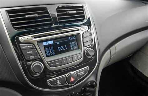 hyundai accent hatchback interior options