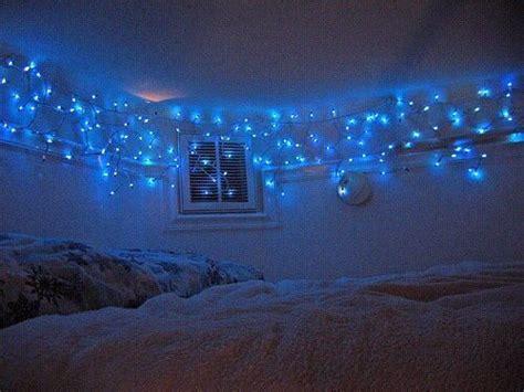 blue aesthetic theme tumblr christmas lights
