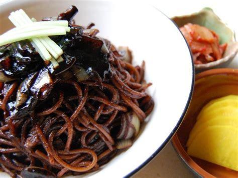 Jjajangmyeon: Noodles with Black Bean Sauce   ZenKimchi
