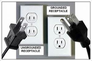 3 Prong Grounding Type Receptacles On 2 Wire Un