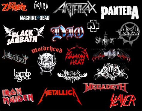 top 10 modern heavy metal bands the headbangers m m images heavy metal bands logos hd wallpaper and background photos 39198587