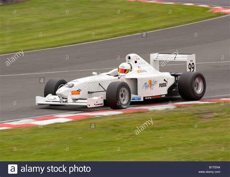 Formula Palmer Audi Racing Car Leaving Brittens Corners at