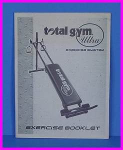 Genuine Original Total Gym Ultra Exercise System Printed