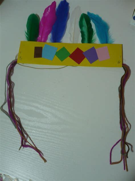 indian headband fun family crafts